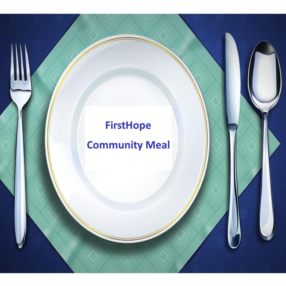 FirstHope Community Meal