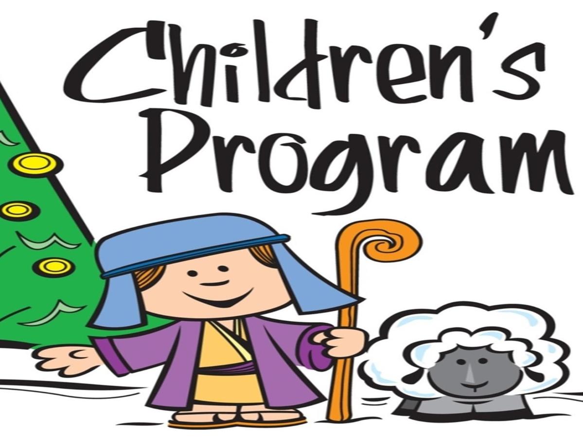 Children's Christmas Program Rehearsal
