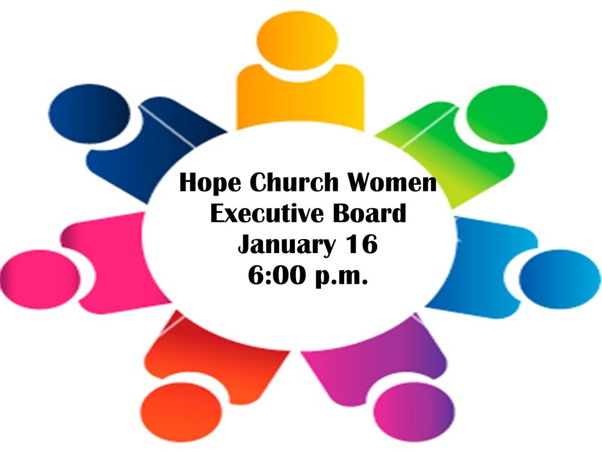 HCW Executive Board Meeting