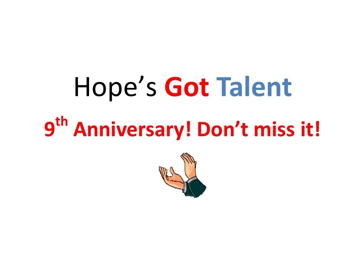 Hope's Got Talent